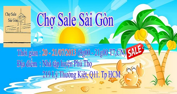 Chợ Sale Sài Gòn – Đến mua và cảm nhận 1