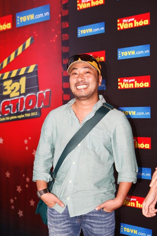 Thanh Hằng, Nguyễn Quang Dũng làm giám khảo cuộc thi 3, 2, 1 Action 2013 1