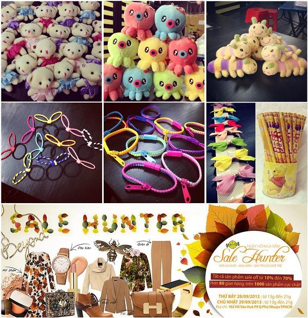 Sale Hunter 28/9 và 29/9 - Phiên chợ mùa thu và cơn mưa quà tặng 2