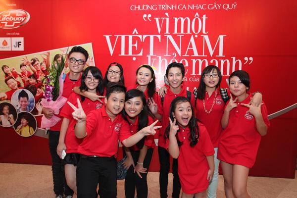 """Tri ân khán giả, sao nhí góp 200 triệu đồng vào quỹ """"Vì một Việt Nam khỏe mạnh"""" 8"""