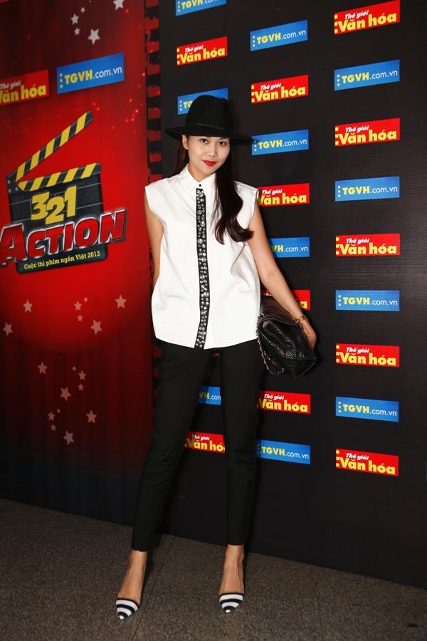 Thanh Hằng, Nguyễn Quang Dũng làm giám khảo cuộc thi 3, 2, 1 Action 2013 3