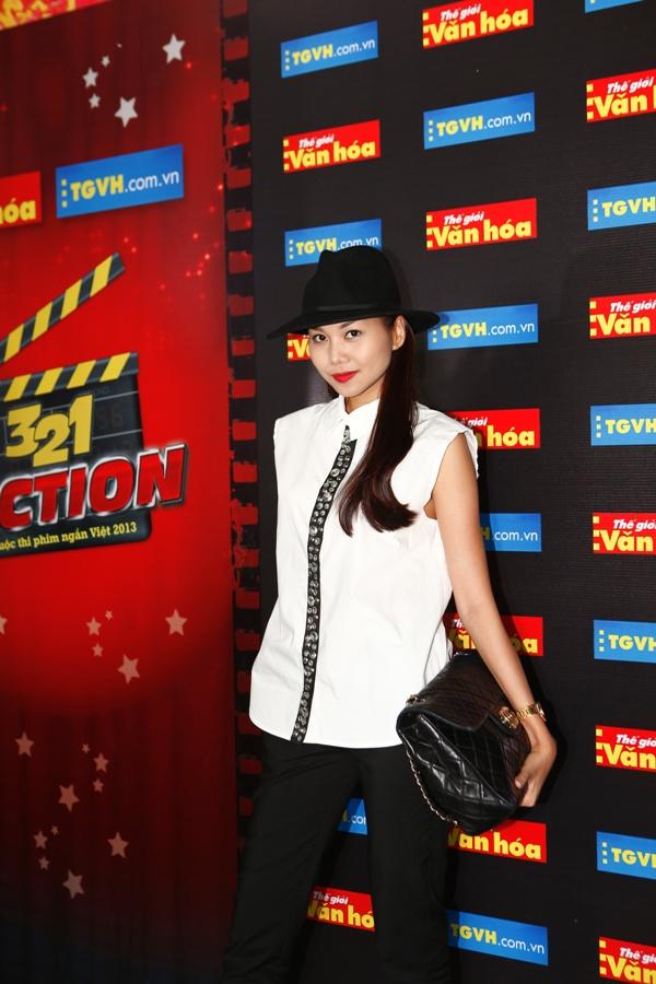 Thanh Hằng, Nguyễn Quang Dũng làm giám khảo cuộc thi 3, 2, 1 Action 2013 2