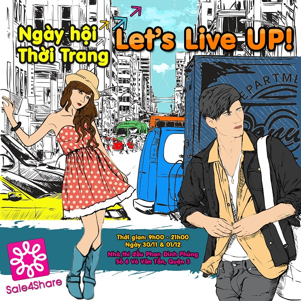 Nhộn nhịp mua sắm cuối tuần cùng Quang Đăng tại Sale 4Share 1