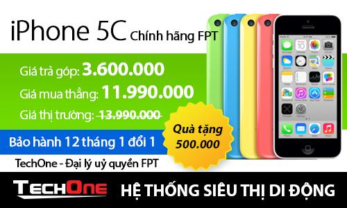 iPhone chính hãng FPT giảm giá mạnh tại TechOne 3