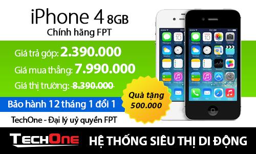 iPhone chính hãng FPT giảm giá mạnh tại TechOne 6