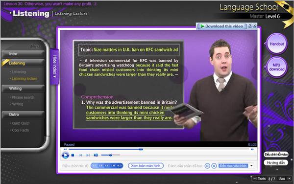 Tiếng Anh online: Học ảo, chất lượng có ảo? 5