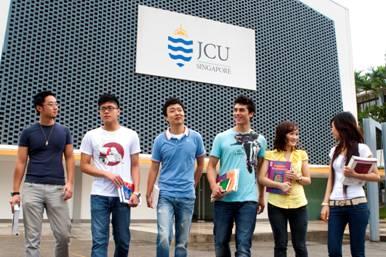 Hội thảo du học của Đại học James Cook Singapore 1