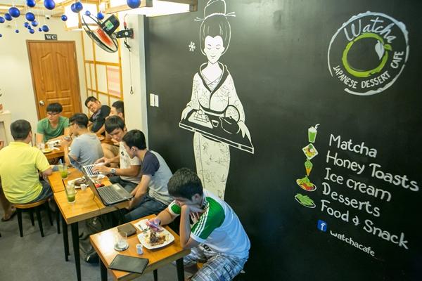 Thưởng thức ẩm thực Nhật Bản tinh tế tại Watcha Cafe 2