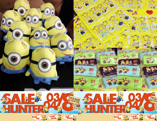"""Phiên chợ sale hunter 3/8 và 4/8: Shopping thật rẻ, """"săn"""" minion """"thật hot"""" 2"""