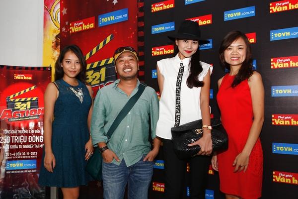 Thanh Hằng, Nguyễn Quang Dũng làm giám khảo cuộc thi 3, 2, 1 Action 2013 4