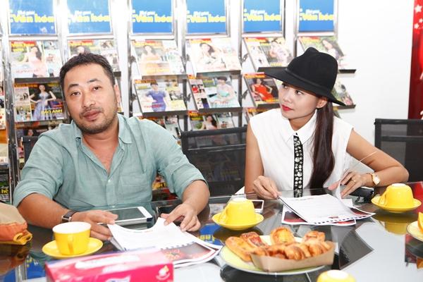 Thanh Hằng, Nguyễn Quang Dũng làm giám khảo cuộc thi 3, 2, 1 Action 2013 5