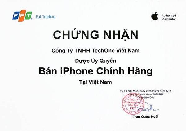 iPhone chính hãng FPT giảm giá mạnh tại TechOne 1