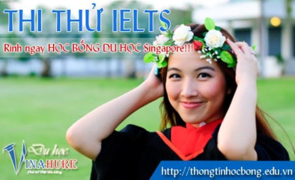 Học tiếng Anh tại Singapore – Thi thử IELTS miễn phí cùng VINAHURE 2