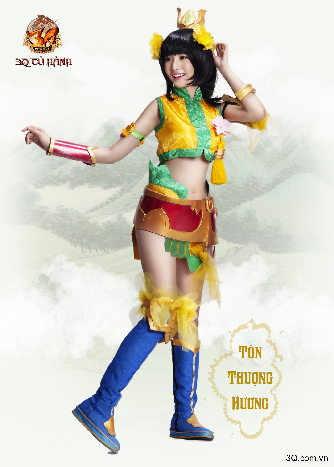 Nữ tướng 3Q Củ Hành đẹp ngỡ ngàng