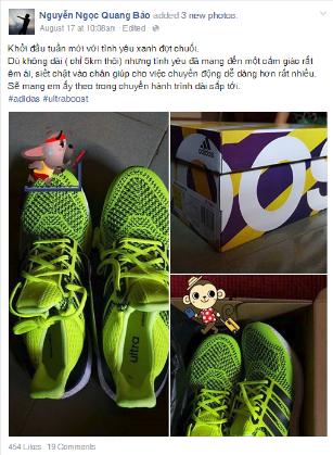 """adidas Ultra Boost gây """"sốt"""" tại Việt Nam - Ảnh 4."""