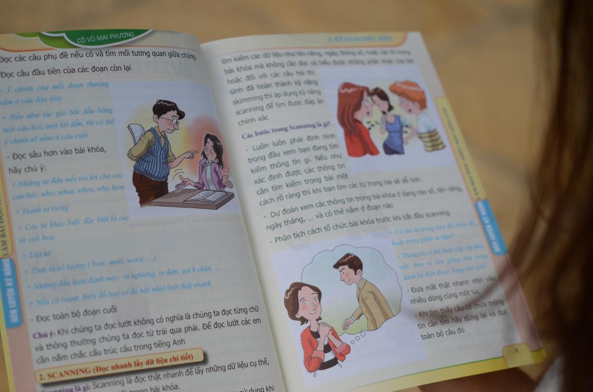 Tuyệt chiêu ăn điểm tuyệt đối phần thi đọc hiểu tiếng Anh - Ảnh 2.