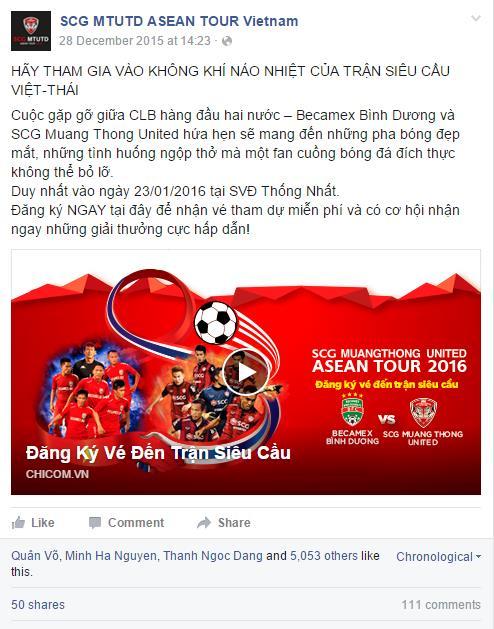 Sốt vé đại tiệc bóng đá giao hữu Việt - Thái - Ảnh 3.