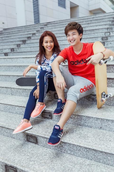 Hot teen đồng loạt diện phong cách thời trang thể thao dạo phố - Ảnh 4.