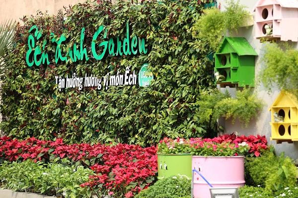 Ếch Xanh Garden – Khu vườn xanh mát giữa lòng thành phố - Ảnh 1.