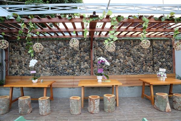 Ếch Xanh Garden – Khu vườn xanh mát giữa lòng thành phố - Ảnh 3.