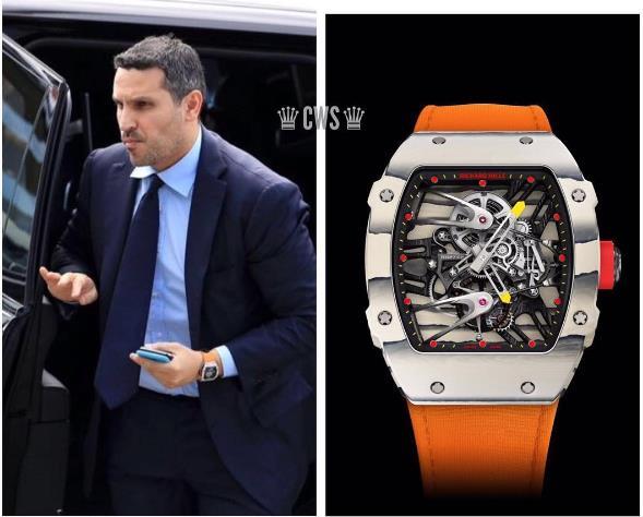 Sau những bóng hồng, siêu xe, sao bóng đá còn mải mê với đồng hồ Richard Mille - Ảnh 4.