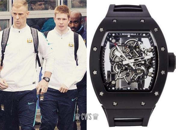 Sau những bóng hồng, siêu xe, sao bóng đá còn mải mê với đồng hồ Richard Mille - Ảnh 7.