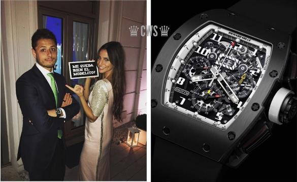 Sau những bóng hồng, siêu xe, sao bóng đá còn mải mê với đồng hồ Richard Mille - Ảnh 9.