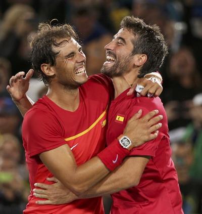 Cận cảnh đồng hồ 18 tỷ của Raphael Nadal tại Olympics Rio 2016 - Ảnh 8.