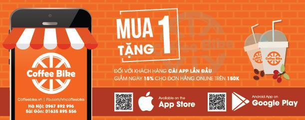 Vietnam Coffee bike trở thành chuỗi cafe đầu tiên ra mắt ứng dụng mua hàng trực tuyến - Ảnh 3.