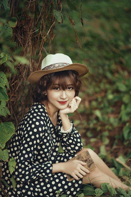Kim Chi – Cô nàng vừa xinh đẹp vừa tài năng của series phim Cấp 3 - Ảnh 4.