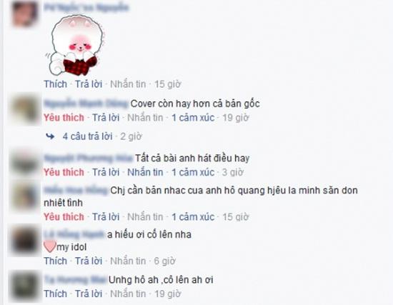 Phản ứng không ngờ của fan về album cover mới của Hồ Quang Hiếu trên Keeng - Ảnh 2.