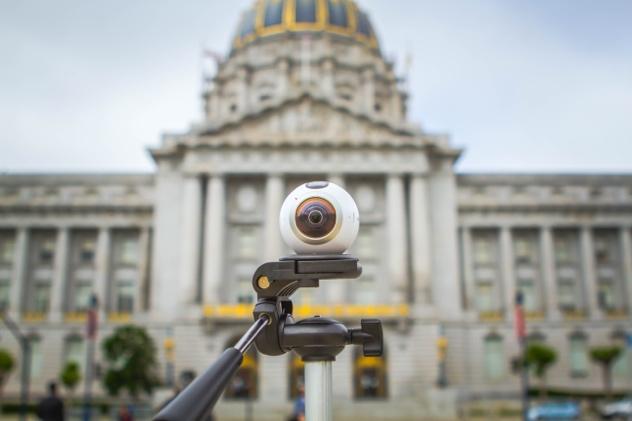 """Nghệ thuật """"đánh bùa choáng"""" mạng xã hội với camera Gear 360 - Ảnh 2."""