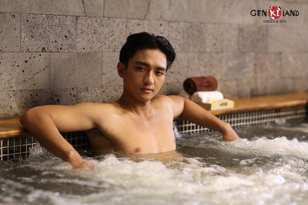 """Trải nghiệm """"tắm tập thể"""" theo phong cách Nhật Bản ngay tại Hà Nội - Ảnh 3."""