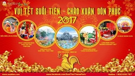 Tết Đinh Dậu 2017: Du xuân Suối Tiên nhận lộc đầu năm - Ảnh 4.