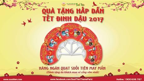 Tết Đinh Dậu 2017: Du xuân Suối Tiên nhận lộc đầu năm - Ảnh 5.