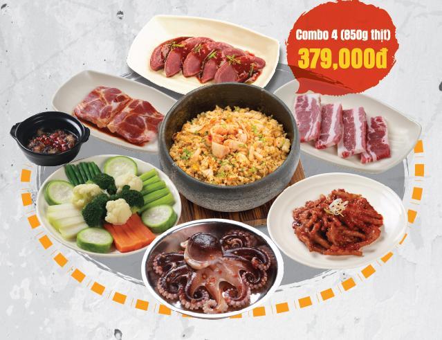 Đón năm mới phá cách với ẩm thực nướng thùng phuy đường phố Hàn Quốc - Ảnh 1.