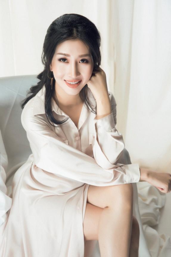 Hoa hậu Đặng Thanh Mai khoe vẻ đẹp đậm chất Á Đông - Ảnh 8.