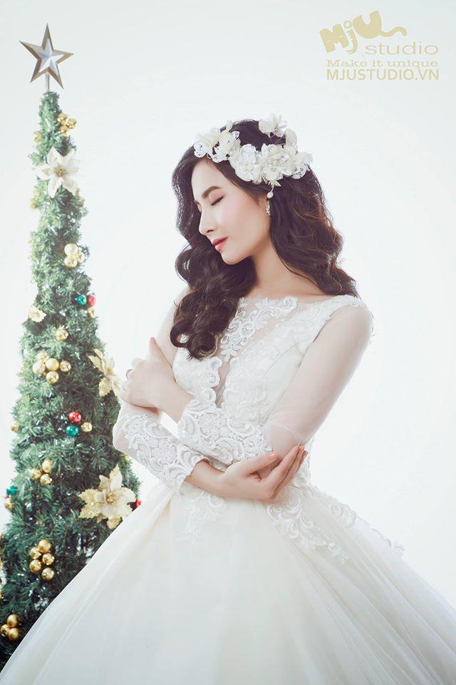 Top 5 mẫu váy cưới hot trend 2017 các cô dâu không nên bỏ lỡ - Ảnh 9.
