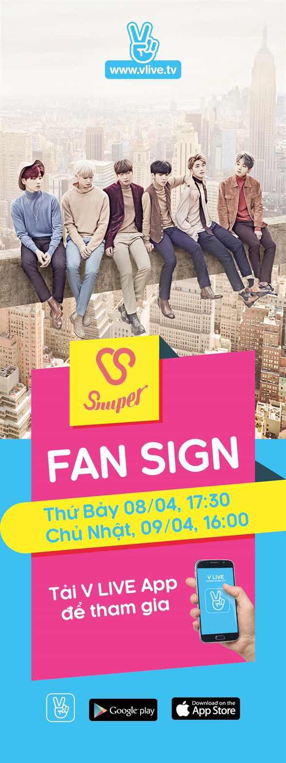 Sau Korea Day, Snuper có fansign đầu tiên ở Hà Nội - Ảnh 2.