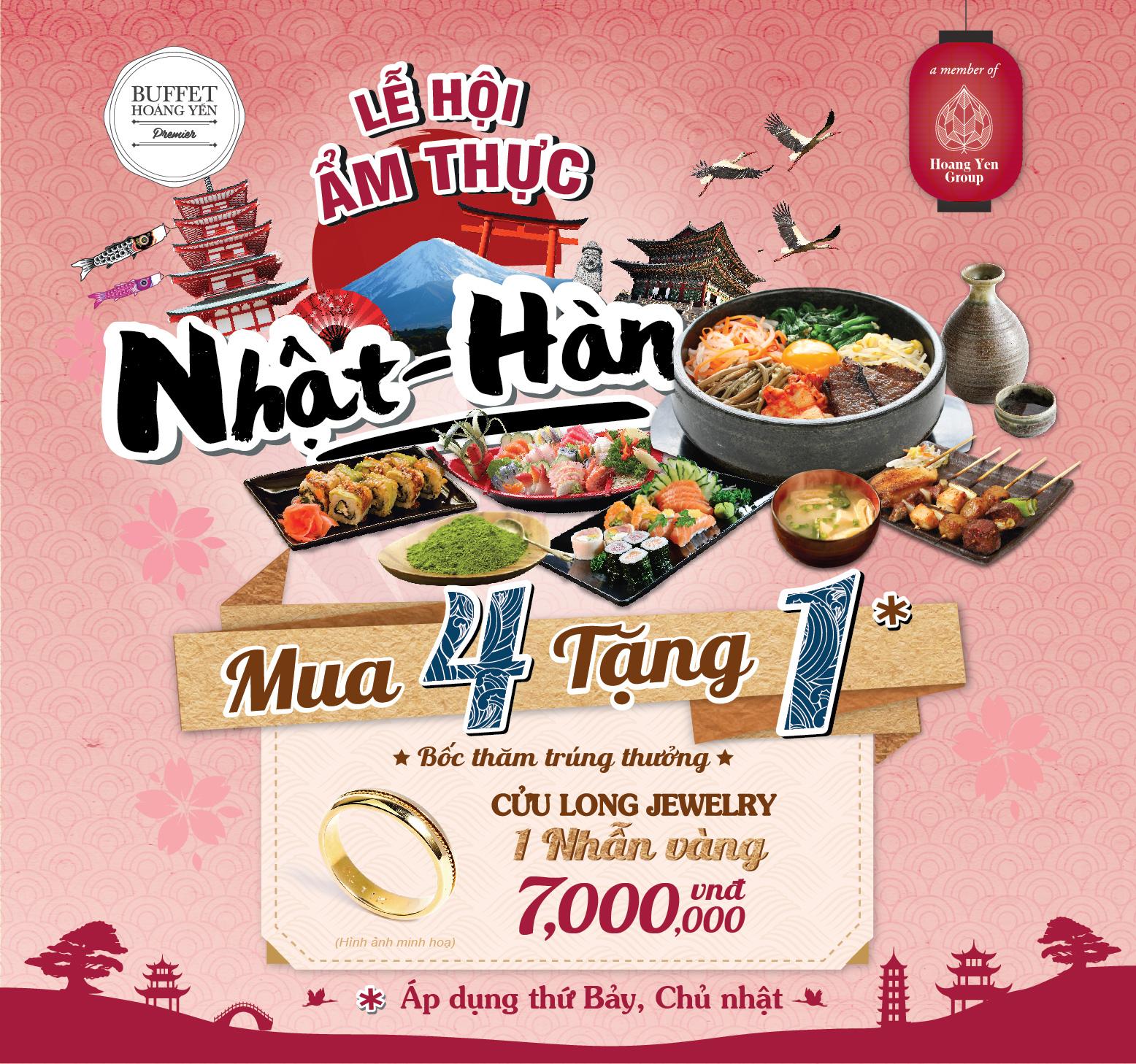 Trải nghiệm thiên đường ẩm thực truyền thống Nhật - Hàn - Ảnh 7.