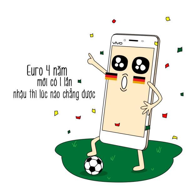 Muôn vẻ vui nhộn mùa Euro dưới góc nhìn smartphone - Ảnh 1.