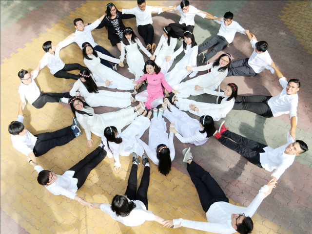 """Bộ ảnh kỷ yếu """"một thời đáng nhớ"""" của học sinh Trường Quốc tế Á Châu - Ảnh 6."""