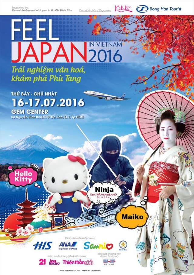 Chí Thiện, bé Bảo An và 365 Daband góp mặt trong FEEL JAPAN IN VIETNAM 2016 - Ảnh 1.