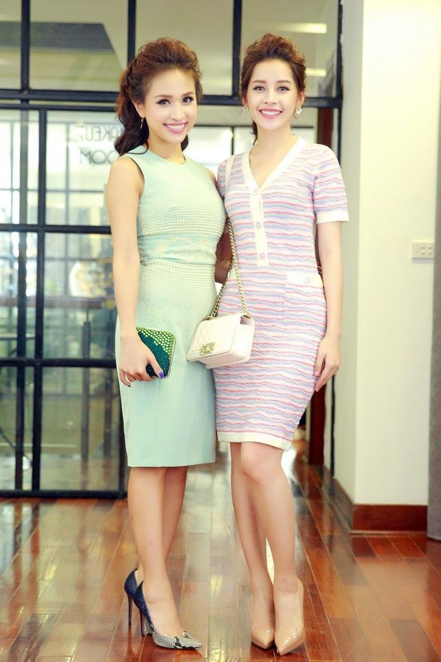 Chi Pu, Thanh Vân Hugo đẹp rạng ngời trong lễ khai trương Quách Ánh Makeup Store - Ảnh 7.