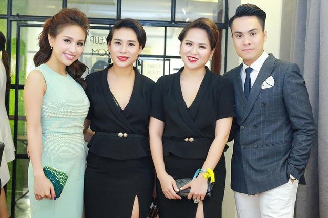 Chi Pu, Thanh Vân Hugo đẹp rạng ngời trong lễ khai trương Quách Ánh Makeup Store - Ảnh 9.