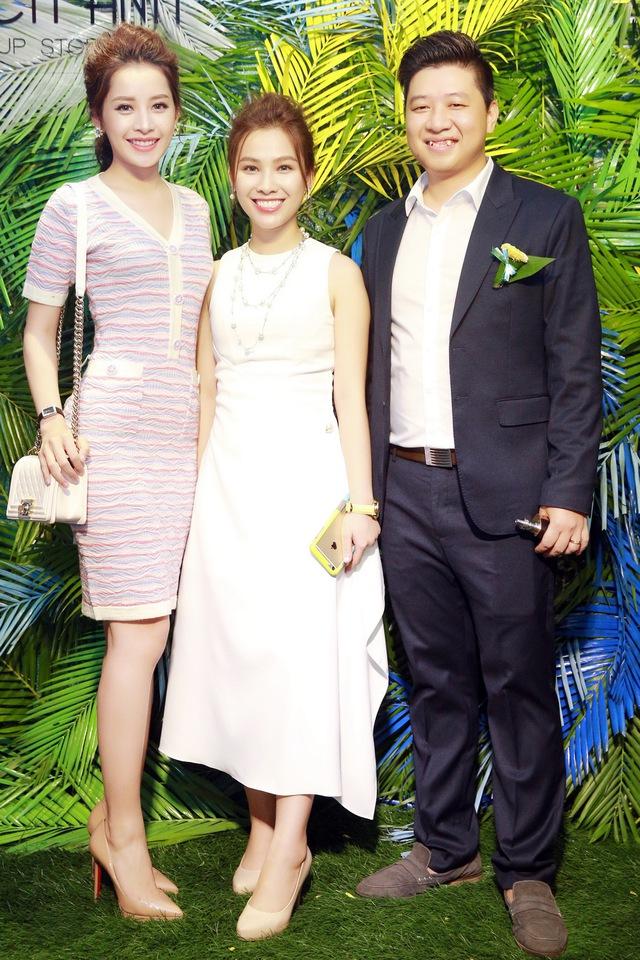 Chi Pu, Thanh Vân Hugo đẹp rạng ngời trong lễ khai trương Quách Ánh Makeup Store - Ảnh 10.