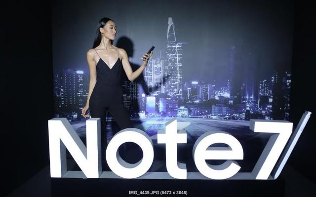 Sao Việt hào hứng trải nghiệm điệp viên mang tên Galaxy Note7 - Ảnh 4.