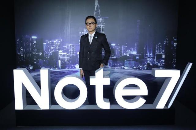 Sao Việt hào hứng trải nghiệm điệp viên mang tên Galaxy Note7 - Ảnh 7.