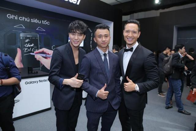 Sao Việt hào hứng trải nghiệm điệp viên mang tên Galaxy Note7 - Ảnh 10.