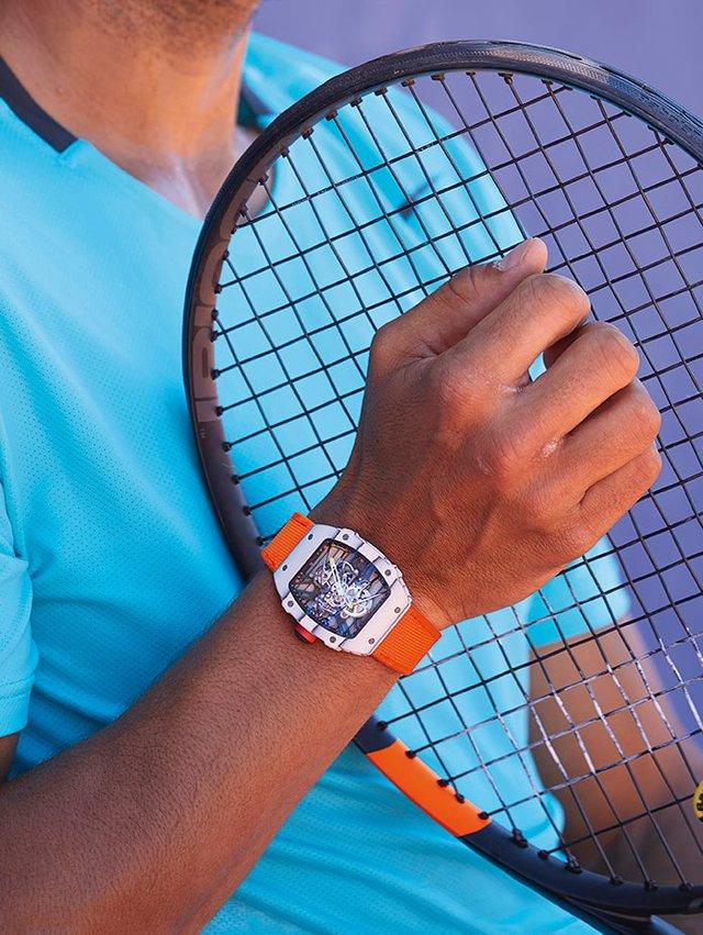 Cận cảnh đồng hồ 18 tỷ của Raphael Nadal tại Olympics Rio 2016 - Ảnh 5.